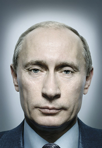 1st prize Portraits Singles © Platon, UK, for Time magazine. President Putin of Russia.