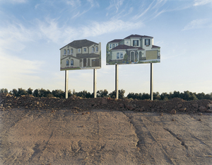 Billboard homes, 2006 © Andrew Phelps