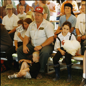 Watching © Dan Nelken, Till the Cows Come Home: County Fair Portraits