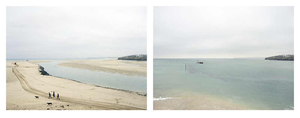 Grand Prize Winner, Portfolio Category, Lens Culture International Exposure Awards 2011 Hayle river mouth, Cornwall. 18 March 2010. Low water 12 noon, high water 6 pm, from the series Sea Change © Michael Marten
