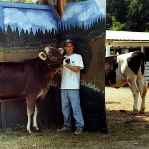 Dairy Winner © Dan Nelken, Till the Cows Come Home: County Fair Portraits