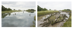 Grand Prize Winner, Portfolio Category Lens Culture International Exposure Awards 2011 Beaumont Quay, Essex. 30 and 31 August 2011. High water 2:10 pm, low water 7:40 am, from the series Sea Change © Michael Marten