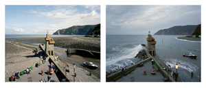 Grand Prize Winner, Portfolio Category Lens Culture International Exposure Awards 2011 Lynmouth, Devon. 17 September 2005. Low water 12:45 pm, high water 7:30 pm, from the series Sea Change © Michael Marten