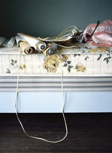 Roses and cables, from What Still Remains © Jessica Backhaus