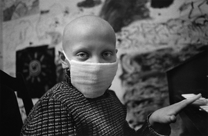 Caterina, 9 years old, thyroid cancer, oncology children's hospital, Lesnoie Borovlyany, Minsk (Belarus) © Pierpaolo Mittica