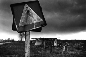 Contaminated lands, evacuated village, Gromyki, Gomel (Belarus) © Pierpaolo Mittica
