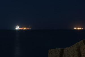Oil Tankers offshore Gela © Massimo Cristaldi