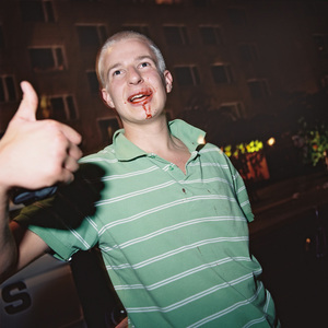A Finnish-Swede hit by a Finn, 01.20  from the series BATTERED (2006-2007). © Harri Pälviranta