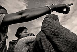 Water Tragedy: Climate Refugee of Bangladesh © Munem Wasif, courtesy of Prix Prictet 2008