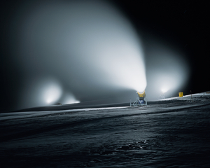 Scene J3, from the series Snow Management © Jules Spinatsch, courtesy of Prix Pictet 2008
