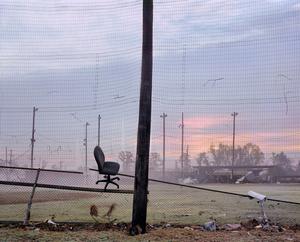 Ball field, St. Bernard Parish, from In Katrina's Wake: Portraits of Loss from an Unnatural Disaster © Chris Jordan, courtesy of Prix Pictet 2008