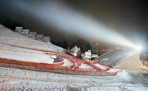 Scene K1, from the series Snow Management © Jules Spinatsch, courtesy of Prix Pictet 2008