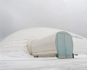 "A Bubble Hall. From the exhibition ""Kainuu"" © Maria Gallen-Kallela"
