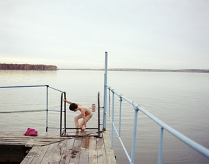 Russian banya. Yekaterinburg. Urals, May 2005 From the book, Motherland, by Simon Roberts © Simon Roberts