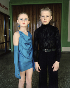 Ballroom dancers, Nikita and Rufina. Omsk. Western Siberia, May 2005 From the book, Motherland, by Simon Roberts © Simon Roberts