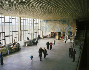 Airport departure lounge. Magadan. Far East Russia, August 2004 From the book, Motherland, by Simon Roberts © Simon Roberts
