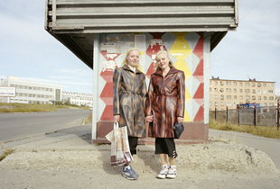 Elena and Vera Karnova. Magadan. Far East Russia, August 2004 From the book, Motherland, by Simon Roberts © Simon Roberts