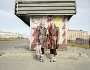 Elena and Vera Karnova. Magadan. Far East Russia, August 2004 From the book, Motherland, by Simon Roberts © Simon Roberts