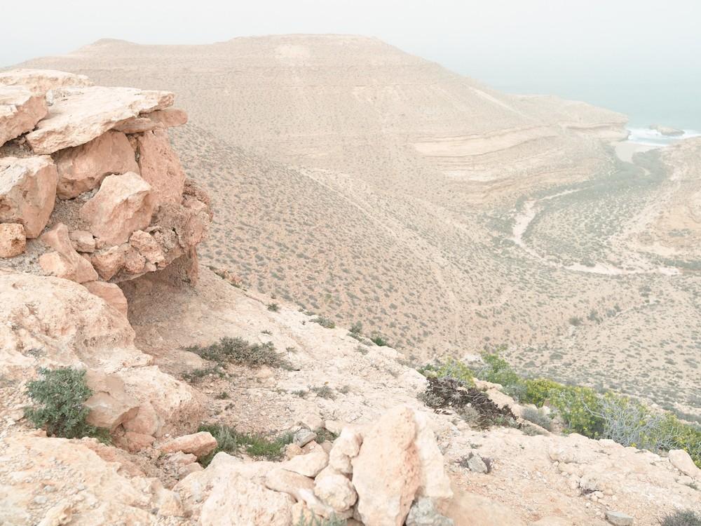 "Pillbox Z95 after a sandstorm, Wadi Zitoune Battlefield, Tobruk perimeter, Libya | From the book ""Topography is Fate: North African Battlefields of World War II"" | © Matthew Arnold Photography"