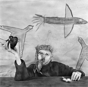 "Take off. From the series ""Asylum of the Birds"" © Roger Ballen"