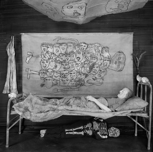 "Memento Mori. From the series ""Asylum of the Birds"" © Roger Ballen"