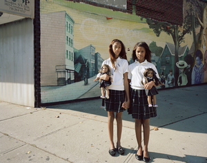 Ariane and Meridien, Brooklyn, NY, 2012 From the series American Girls © Ilona Szwarc