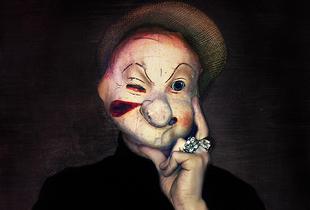 Vintage Masks, spontaneous iPhone series © Vee Speers
