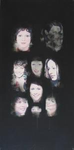 © Teresa Gierzynska, Looks, 1974, re-print, aluminium board, 100x50 cm