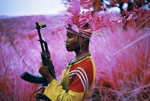 Safe From Harm, North Kivu, Eastern Congo, 2012 © Richard Mosse. Courtesy of the artist and Jack Shainman Gallery.