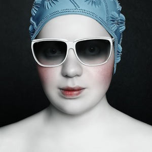 Swimmer, 2007 © Oleg Dou, Russian Tea Room Gallery