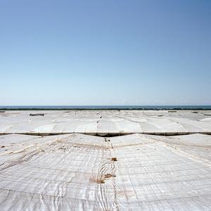 Greenhouse tops. Paraje Chozas de Lupión. El Ejido, Almería. © Reinaldo Loureiro