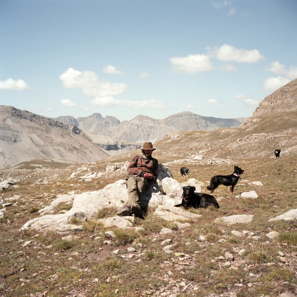 "Somewhere in the Mercantour. From the series ""Le grand silence"" © Clémentine Schneidermann"