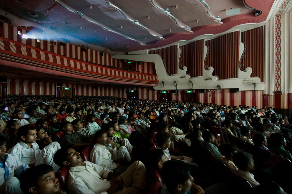 "From ""The Cinemas Project"", Bombay © Zubin Pastakia"