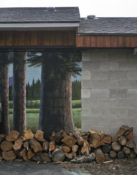 Wood Pile, Tyhee Idaho © Alexis Pike