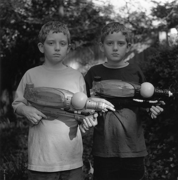 Dylan and Evan © Donna Pinckley
