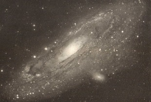 Andromeda, Photogravure, 2014. Original Image: NASA