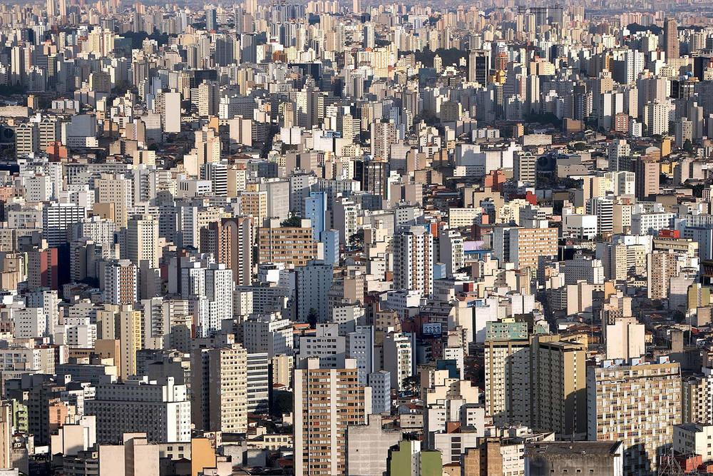 """Centro São Paulo (2008). From the series """"BRICS"""" © Marcus Lyon"""
