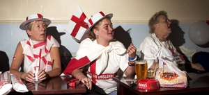 UK Football Fans © Adam Rubin