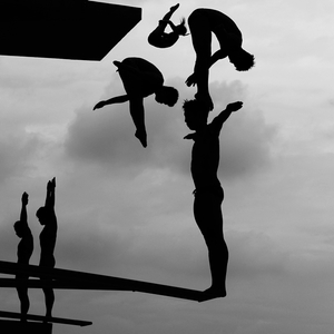 2nd prize Sports Stories: © Adam Pretty, Australia, Getty Images Shanghai, China, 17 July. Divers practice during the 14th FINA World Championships at the Oriental Sports Center in Shanghai, China.
