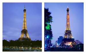"""From the series """"The eiffel tower(s)"""" Paris, France / Shenzhen, China © Han Sungpil"""
