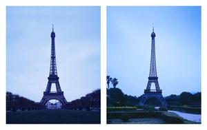 "From the series ""The eiffel tower(s)"" Paris, France / Jeju, Republic of Korea © Han Sungpil"