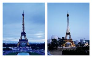 "From the series ""The eiffel tower(s)"" Paris, France / Bucheon, Republic of Korea © Han Sungpil"