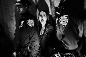 2nd prize People in the News Singles: © Tomasz Lazar, Poland New York, USA, 25 October. Arrest of protesters in Harlem, New York City, during a demonstration against police tactics and income inequality.