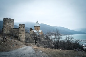 Ananuri Fortress © CJM Booth