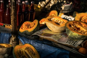 Pumpkins © CJM Booth