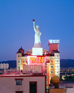 The Statue of Win, 2005-2013, Chromogenic Print, 178x220cm