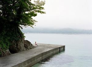 Man By The Shore, Iwate Japan© Takahiro Kaneyama