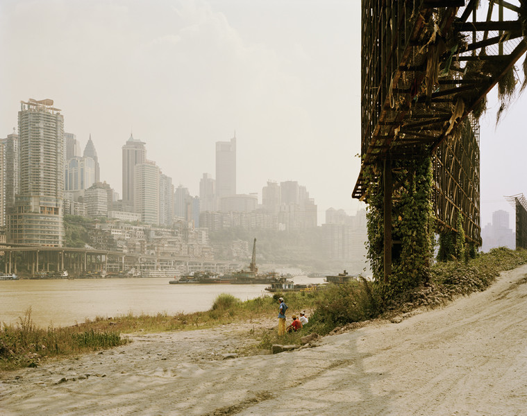 Nadav Kandar Yangtze: The Long River (China, 2010) Billboard at Chongqing  Courtesy of Noorderlicht Gallery, Holland.