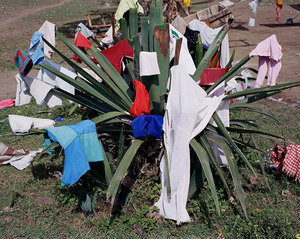 "Laundry, 2007. From the photobook ""In and Out of Fashion"" © Viviane Sassen"