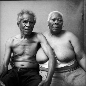© Marcia Michael, portrait of old couple, from the series The Study of Kin. Honorable Mention, LensCulture International Exposure Awards 2010